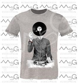 "T-shirt ""VINYL"" uomo"