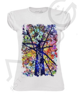 "T-shirt ""Flowers"" - Woman"
