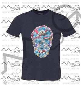 "T-shirt ""Skull Multicolor"" Uomo"