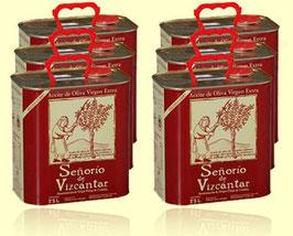 Señorio de Vizcántar Olivenöl Kanister 2.5 Liter (6x)