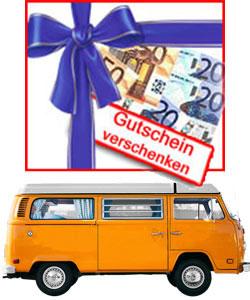 Gutscheine für Multi-Van- und Transporter-Fahrer