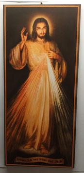 Bild Barmherziger Jesus ohne Rahmen