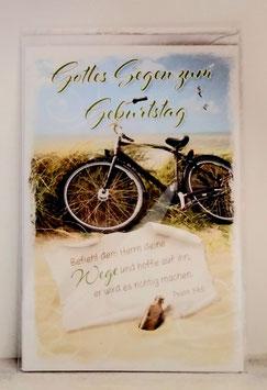 Geburtstagskarte Fahrrad
