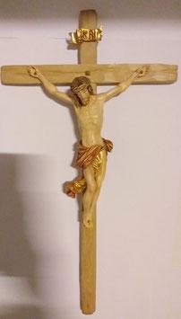 Kreuz Holz, coloriert