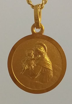 Medaille Heiliger Antonius Double