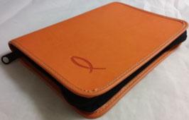 Gebetsbuchhülle Softshell orange