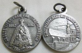 Medaille mit dem Gnadenbild Unserer Lieben Frau von Tirschenreuth