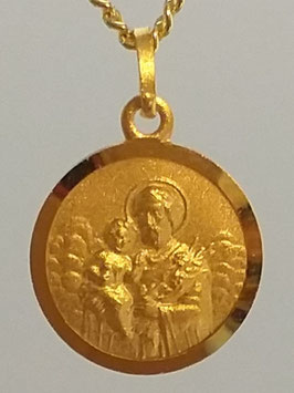 Medaille Heiliger Josef Double