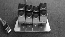 900036 MM ButtonCommander Zusatzmodul schwarz
