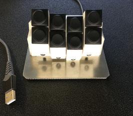 900039 MM ButtonCommander Zusatzmodul weiss