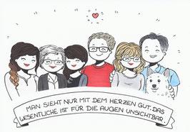 6 Personen-Doodle inkl. kleinen Wünschen