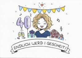 1 Person-Doodle inkl. besonderen Wünschen