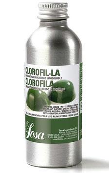 Натуральный жирорастворимый жидкий краситель, цвет Зеленый хлорофилл, Sosa