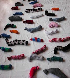 Sockenkranz *Alte Socke*