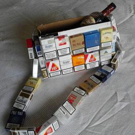 Schachtel-Umhängetasche