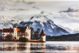 Leinwandbild Lindau Hintere Insel 20x30 cm