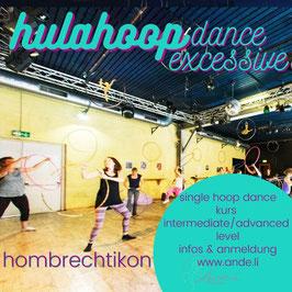 Monatliche: Beginner Boost, SingleExcessive oder TwinMotion Hoop Dance Class