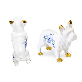 Keramik Bulldog White