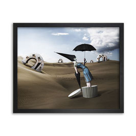 Bild Pray For Rain Canvas