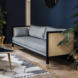 Geflochtenes Sofa