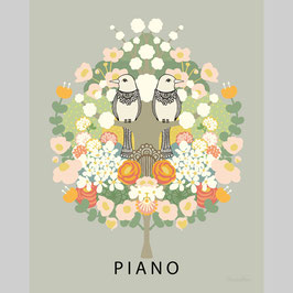 Poster Piano