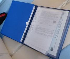 車検証ケース PVCレザータイプ