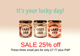 Our three most popular flavours at 25% off!