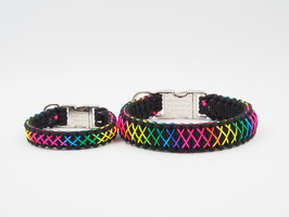"Halsband Rainbow ""Small"" oder ""Large"""
