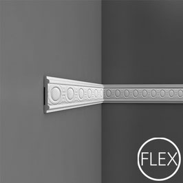 P7030F Flexieble Wandleiste Orac Decor Luxxus - Friesleisten Zierleisten Stuckleisten