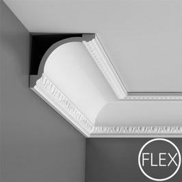 Stuckleisten C216F FLEX ORAC DECOR LUXXUS Kollektion - Eckleisten Zierprofil