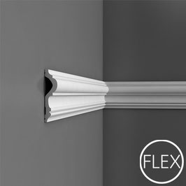 P8050F Flexibleleiste Wandleiste Orac Decor Luxxus - Friesleisten Zierleisten Stuckleisten