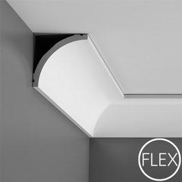Stuckleisten C240F FLEX ORAC DECOR LUXXUS Kollektion - Eckleisten Zierprofil