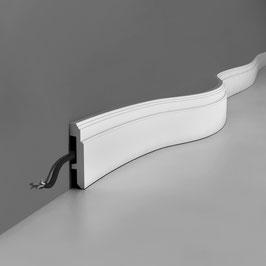 Sockelleiste SX155F Luxxus Orac Decor flexible Fußleiste Stuckleiste