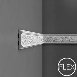 P7020F Flexibleleiste Wandleiste Orac Decor Luxxus - Friesleisten Zierleisten Stuckleisten