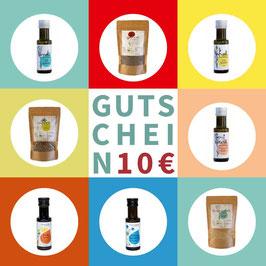 Geschenk-Gutschein 10 / 20/ 30/ 50€