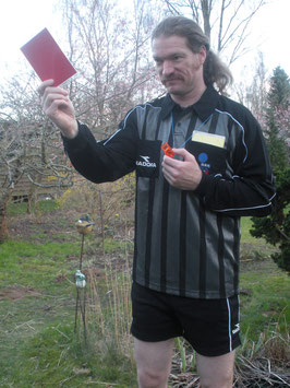 Schiedsrichter(in) Erwachsenenkostüm