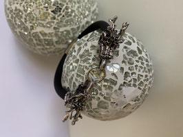 Kautschukarmband mit  Drachenköpfen