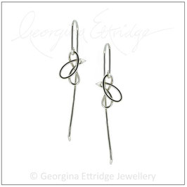 Pear Drops Mini (Long Hooks) Earrings
