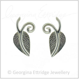 Leaf & Curling Sprigs Earrings