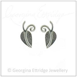 Leaf & Curling Sprigs Earrings
