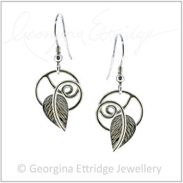 Twirling Leaves Earrings