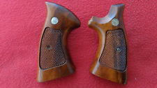 Guance legno originali Smith & Wesson K