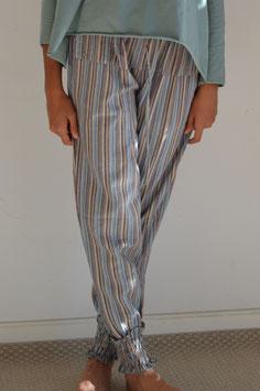 Pantalón largo rayas pastel
