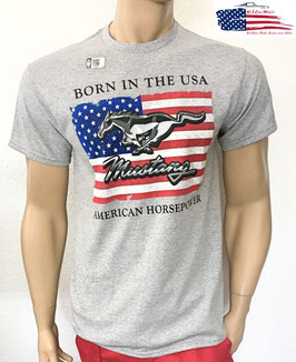 #FMMBU - Ford Mustang T-Shirt - Born in the USA