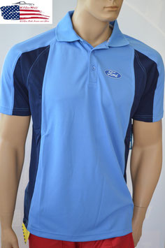 #PS1002 - Ford Poloshirt - Blue Oval