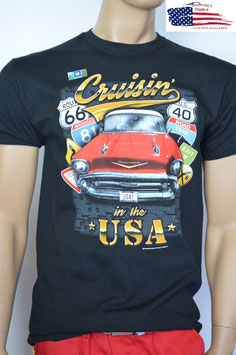 #CVCRU - Chevrolet T-Shirt - Cruisin in the USA