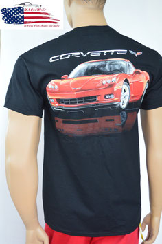 #CVRMV - Corvette C6 T-Shirt - Red Beautie