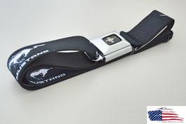 #WFM001 - Ford Mustang Sicherheitsgurt Gürtel mit Running Horse Print