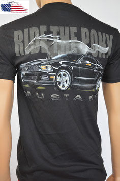 #FMMRP - Ford Mustang T-Shirt - Ride The Pony