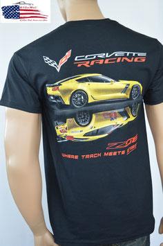 #CVTMS - Corvette T-Shirt Corvette C7 - Z06 - Racing